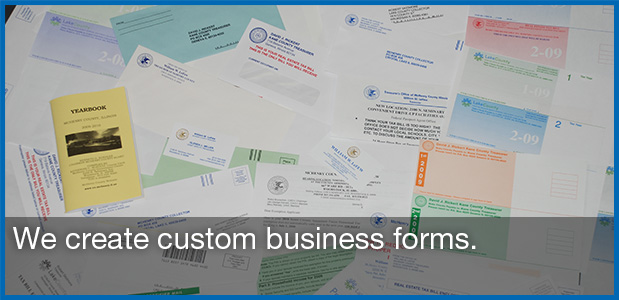 custom and stock business forms